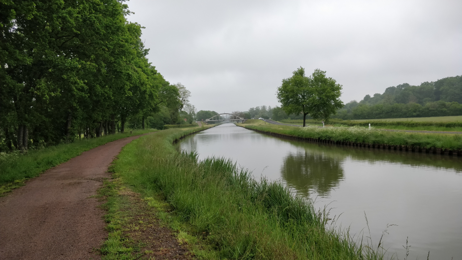 Le long du canal latéral de la Loire