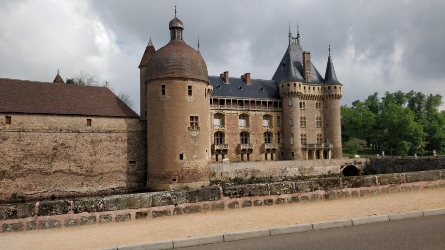 Le château de la Clayette