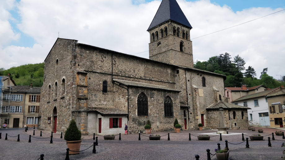 L'église de Beaujeu