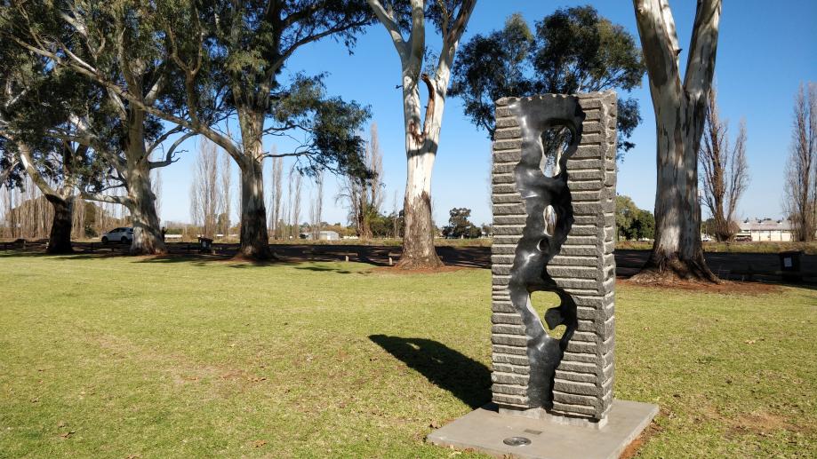 Une des sculptures