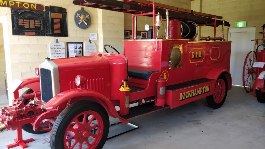 Le local des pompiers