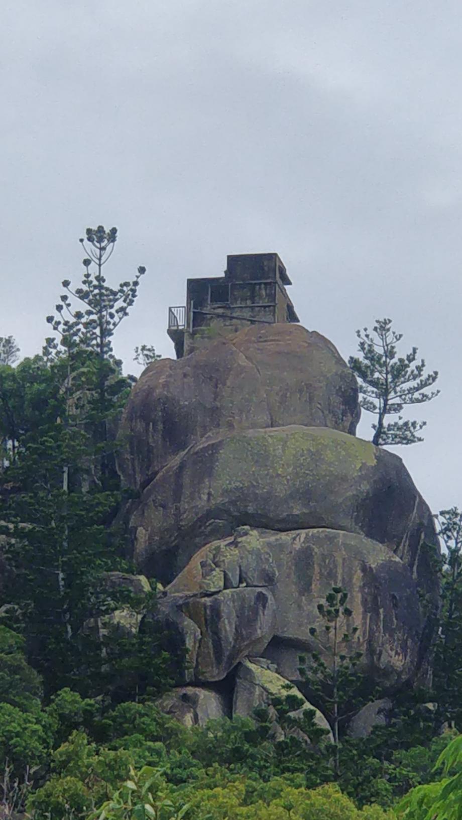Le fort, situé à 233m d'altitude