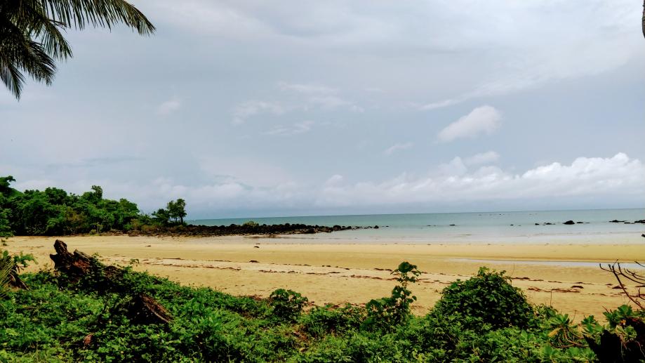 La très belle plage de Mission Beach
