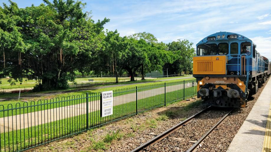 Le Kuranda Scenic Railway, une antiquité !