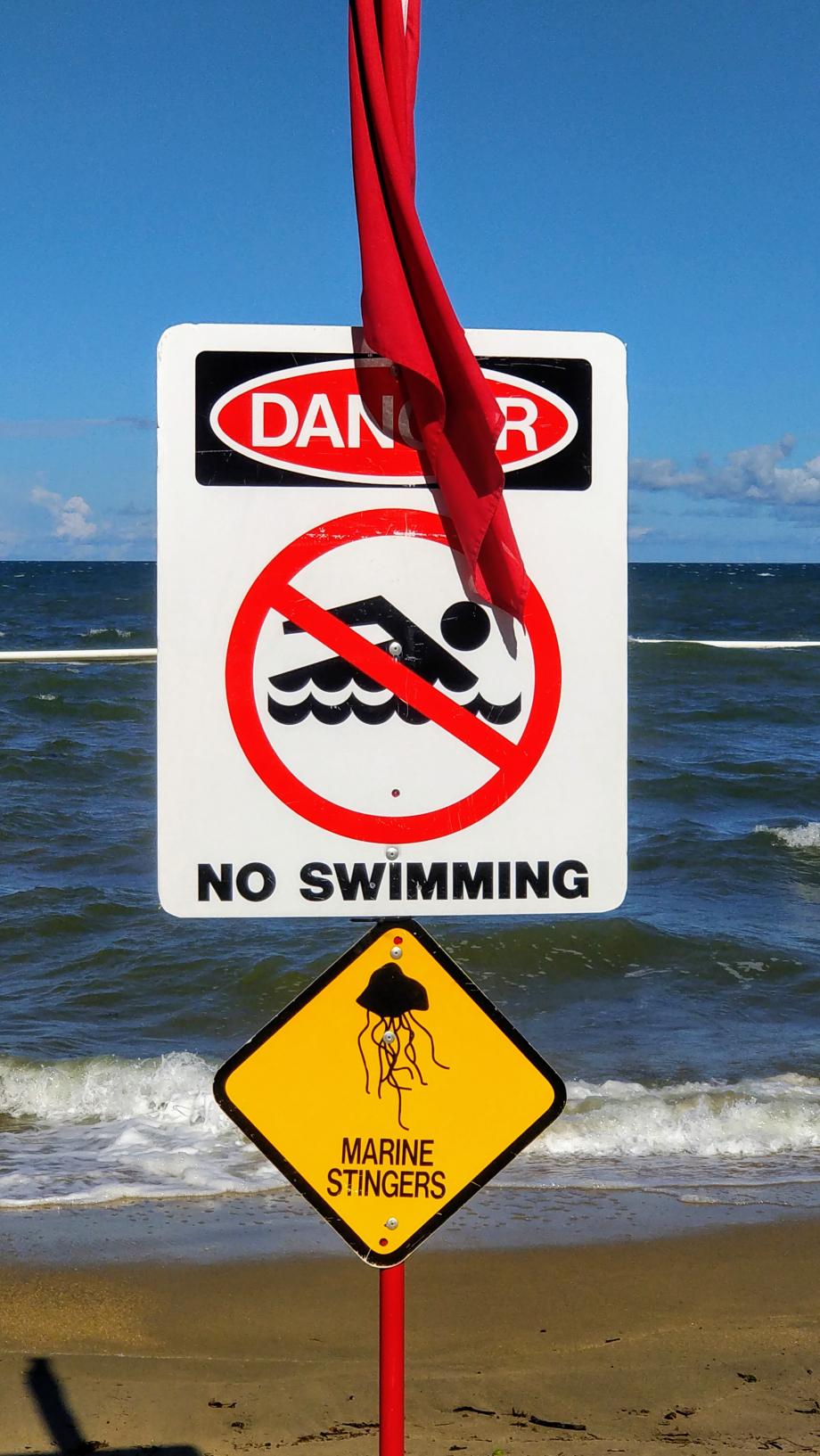 Baignade interdite !