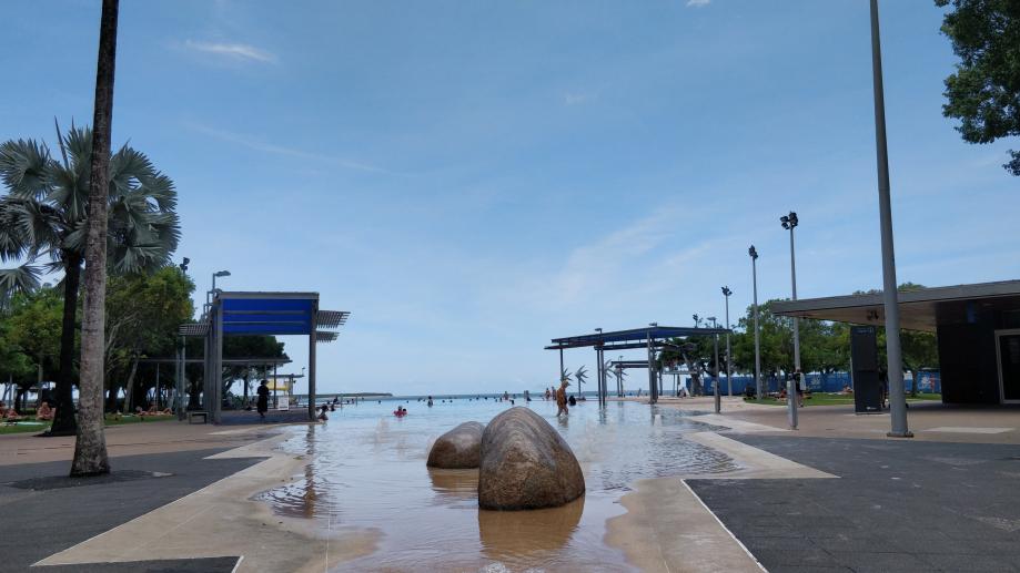Une dernière image de Cairns, le lagon