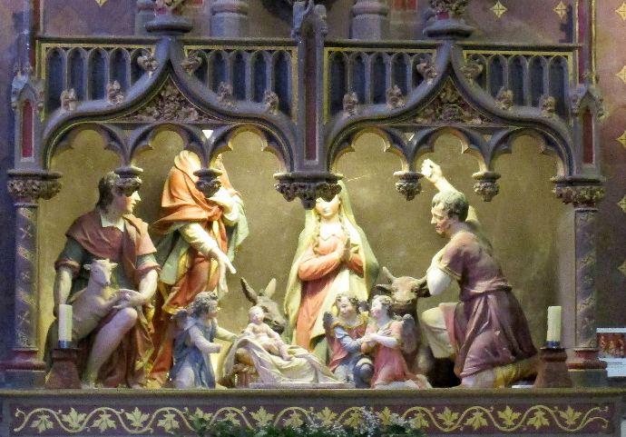 Adoration des bergers Delabarre 690X 481