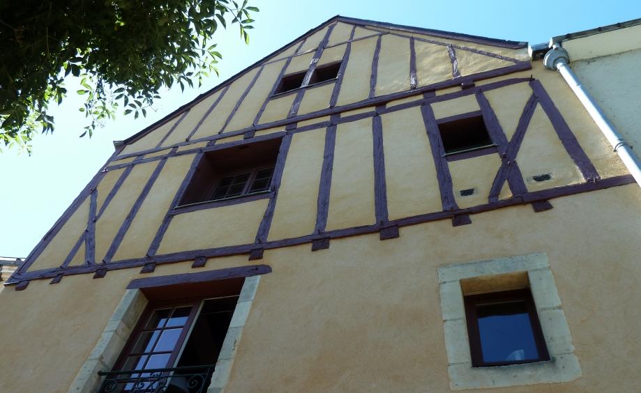 Façade hôtel Godard d'Assé rue St Flaceau