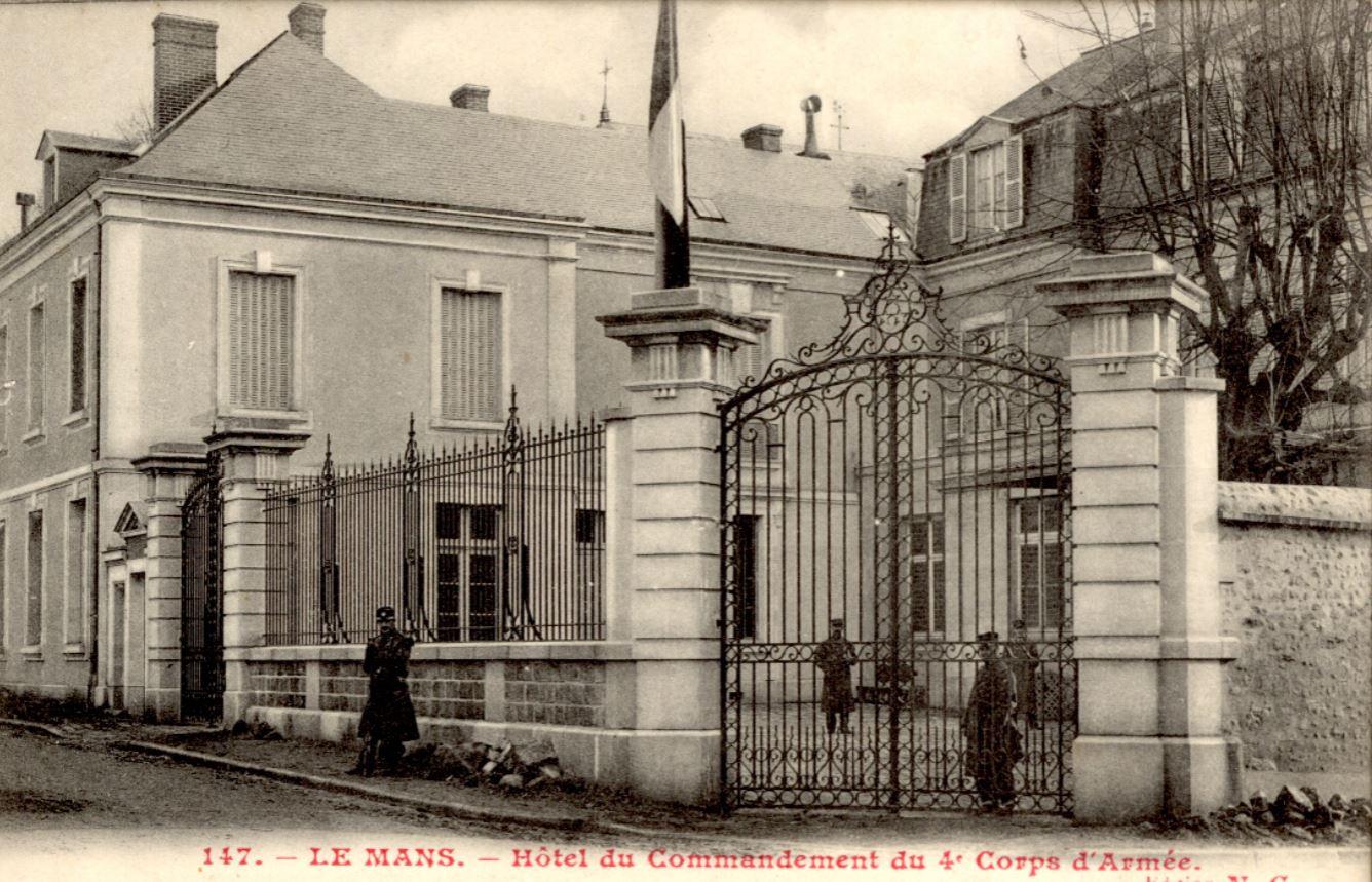 Hôtel du Commandement du  4e Corps d'Armée
