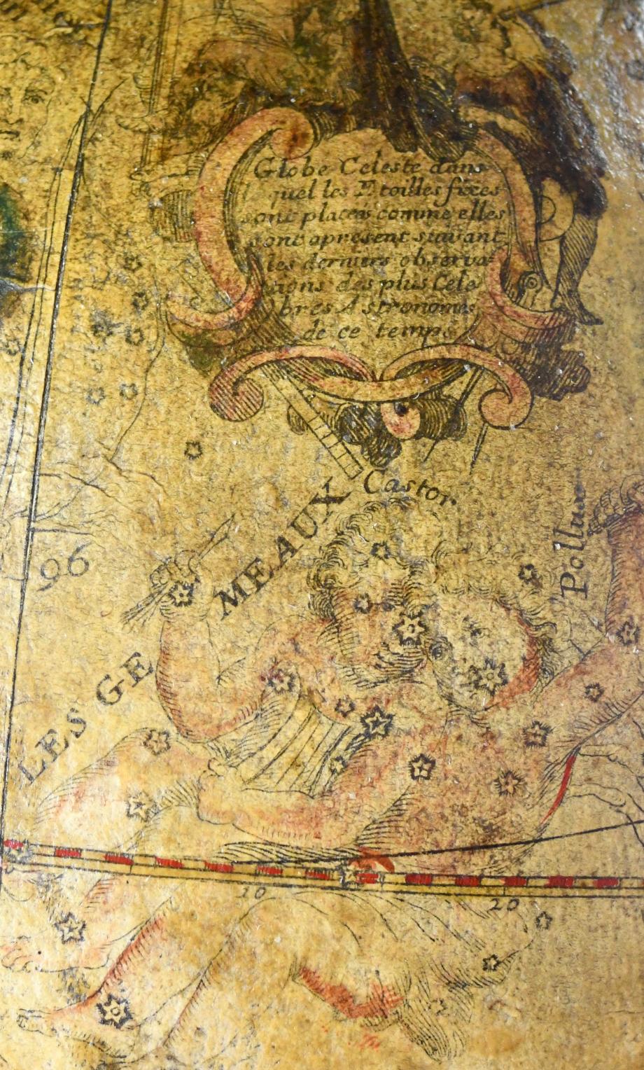 globe celeste detail2