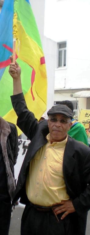 Ali Khadaoui militant Berbère