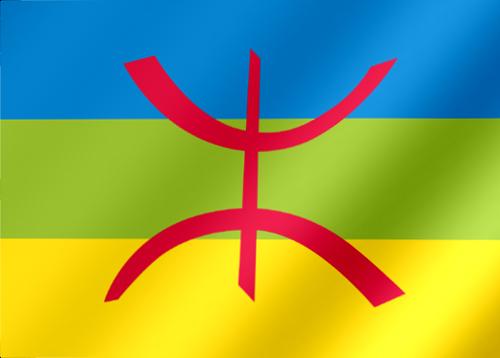 Le drapeau berbère :  l'étendard du rassemblement et de l'identité