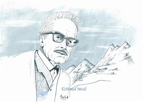 Mouloud Mammeri  militant en faveur de la langue berbère