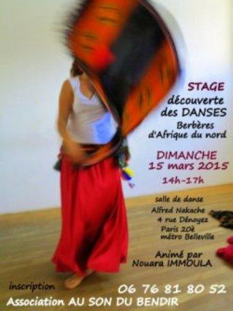 Stage danse berbère avec Nouara Immoula