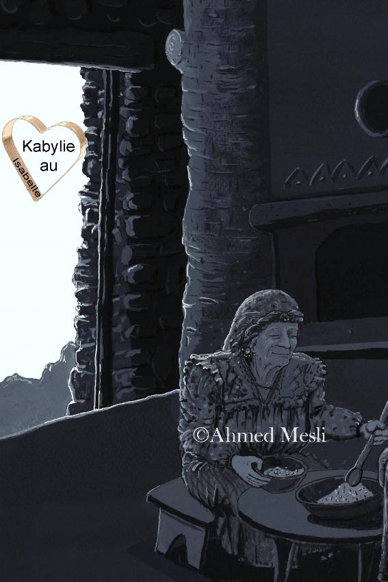 hommage à la femme kabyle