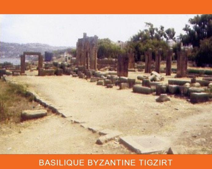 Basilique de Tigzirt patrimoine culturel de Kabylie