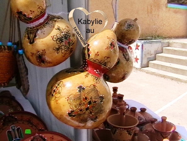 courges kabyles décorées ssendu