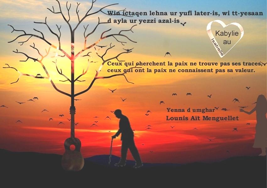 sagesse de Lounis Aït Menguellet