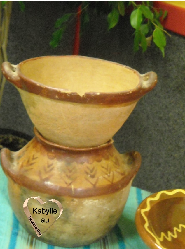 ancien couscoussier kabyle préservation du patrimoine culturel kabyle