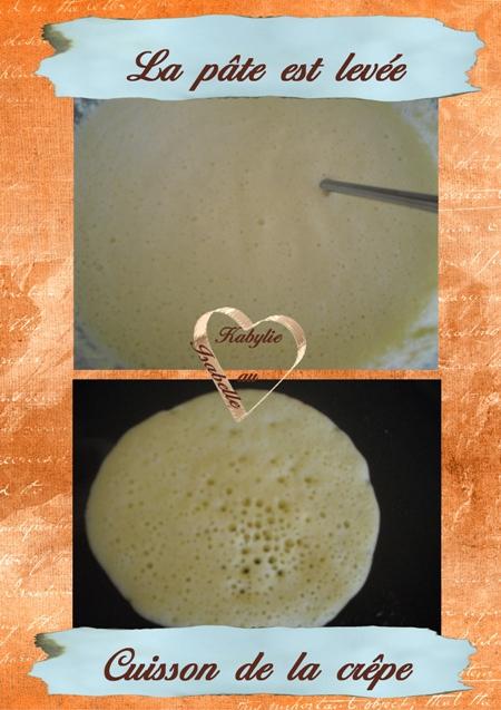 La recette des crêpes mille trous tighrifin