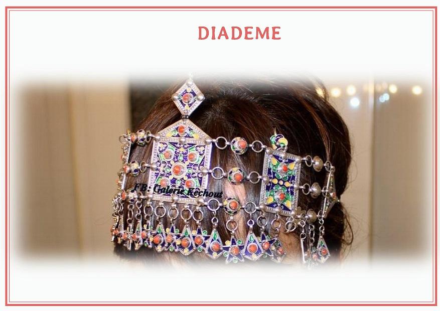 Diadème mariée kabyle