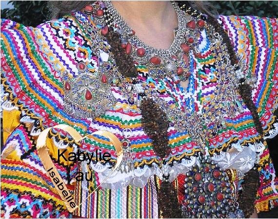 Les bijoux de la mariée kabyle