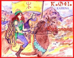 Kahina reine Berbère Dihiya