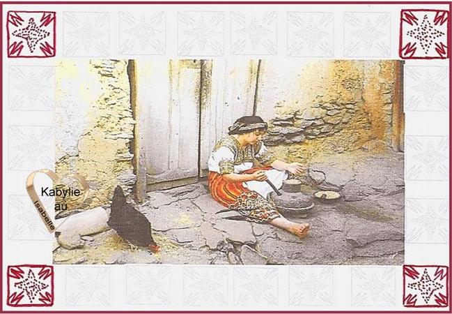 Gestes de femmes kabyles autrefois