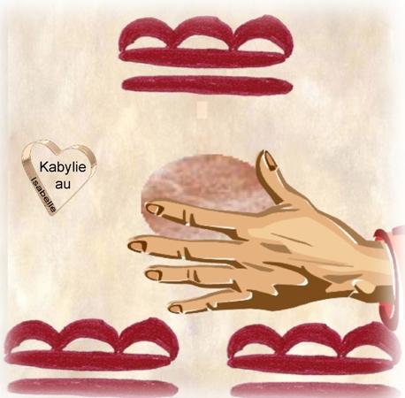 façonnage d'une poterie kabyle