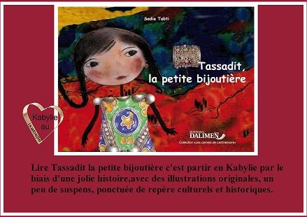 livre Tassadit la petite bijoutière