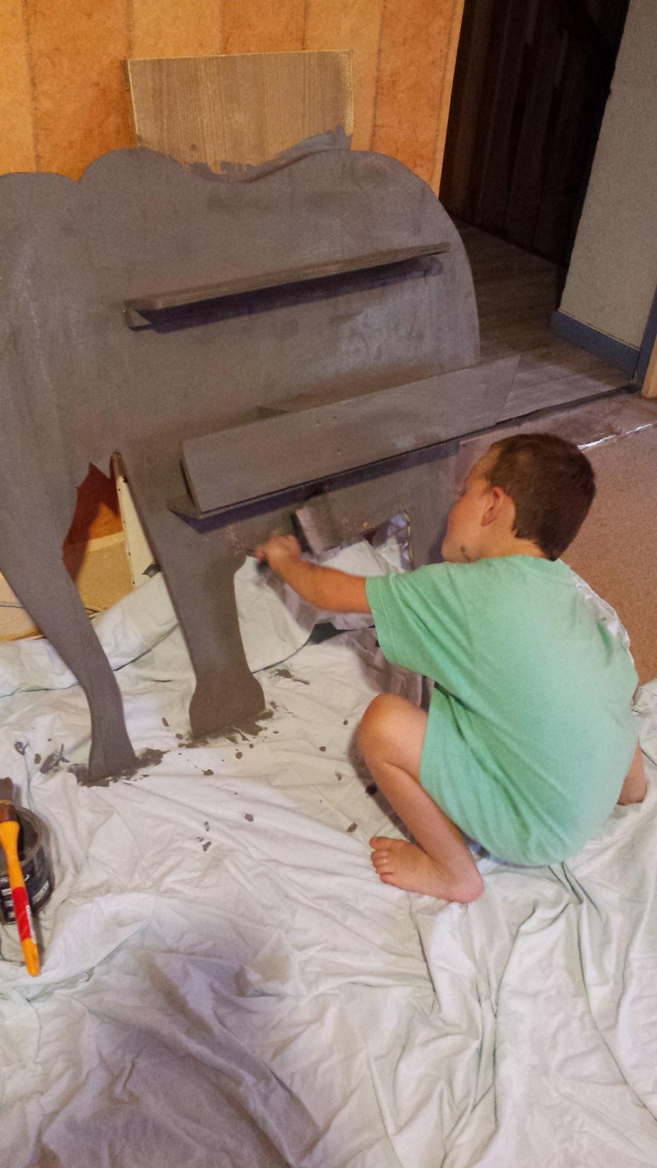 la bibliophant cabane peinture palettes techniques petits bricolages. Black Bedroom Furniture Sets. Home Design Ideas