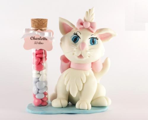 2014-10-Eprouvette 10 cm et chat porcelaine anniversaire Charlotte.jpg