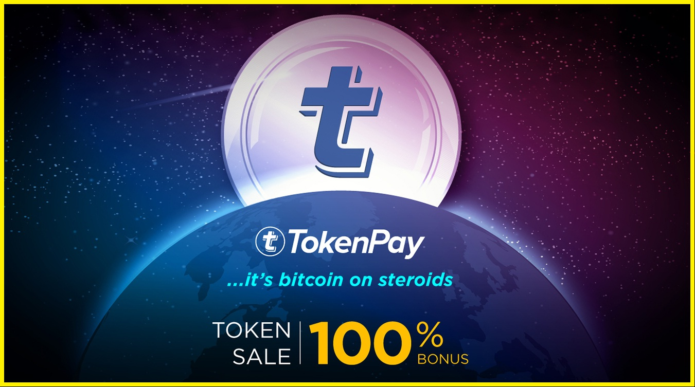 tokenpay ico 100% bonus.jpg