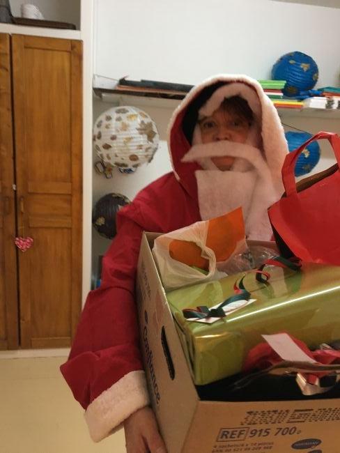 Le Père Noël à l'Hacienda