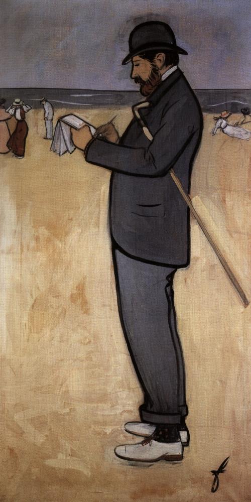 02 1894 Forain dessinant à Trouville Autoportrait.jpg