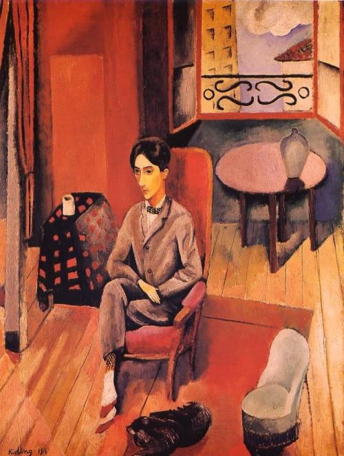 02 1910 Kisling Moïse Portrait de Jean Cocteau.jpg