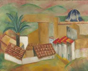 03 1916 Kisling Moïse Village méditerranéen.jpg