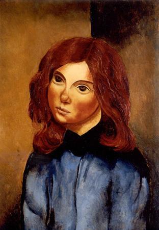 06 1930 Kisling Moïse Portrait de jeune fille.jpg
