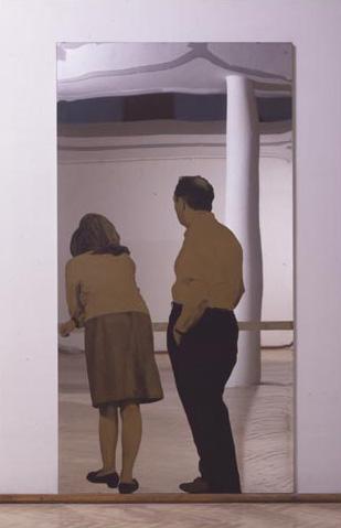 08 1962 Pistoletto Michelangelo Lui e Lei alla balconata.jpg