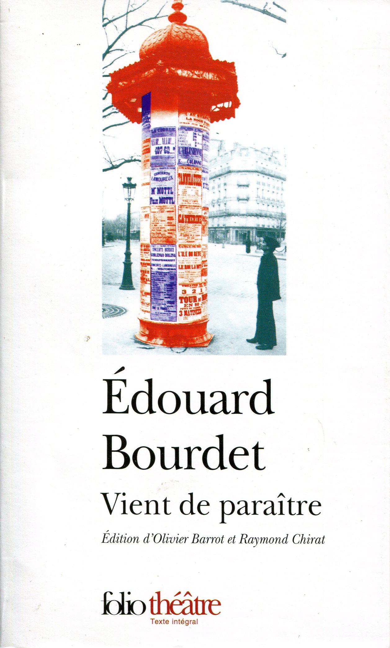 1927 Bourdet Edouard Vient de paraître.jpg