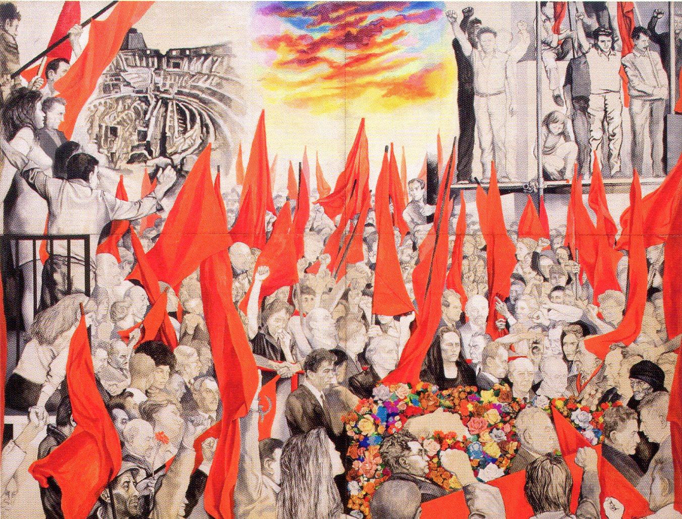 1972 Guttuso Renato Funerali di Togliatti.jpg