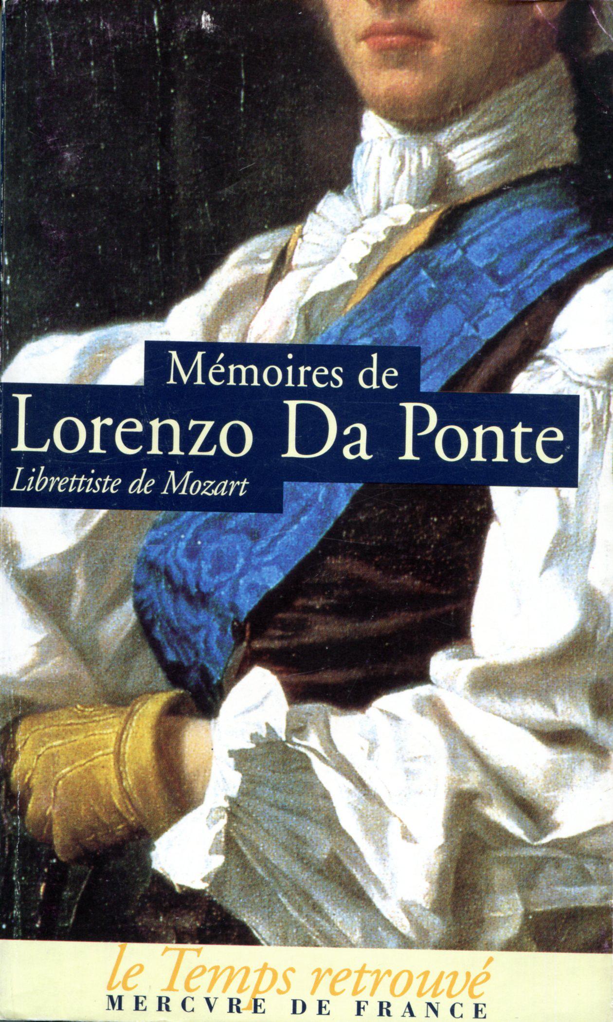 1800 Da Ponte Lorenzo Mémoires.jpg