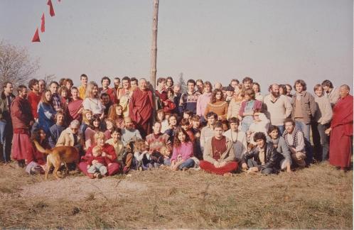 Côtes de JordGroupes Dhagpo Nov 1979.jpg