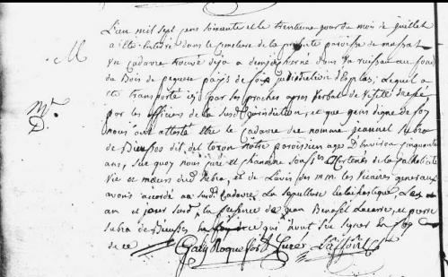 + Jeannet Subra Buissos 30-7-1760 trouvé dans les bois Massat.PNG