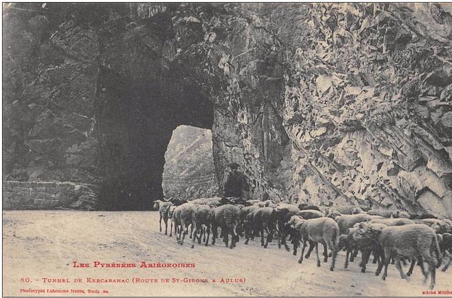 CPA Porte de Kerkabanac.PNG