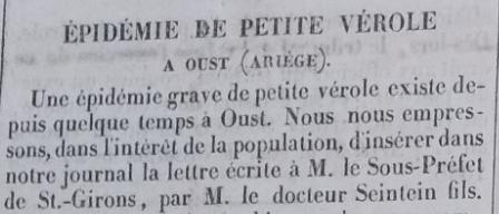 épidémie petite vérole variole Oust 1846.PNG