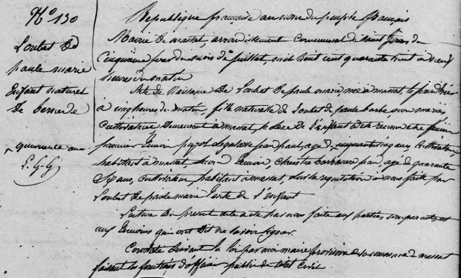 ° Marie Loubet de Paule 5-7-1848 Massat.PNG