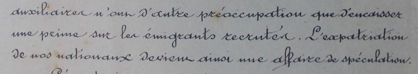 agents payés par prime à l'émigrant 18-4-1889.PNG
