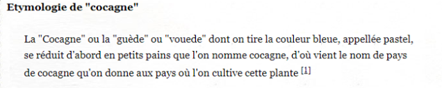 cocagne etymologie.PNG