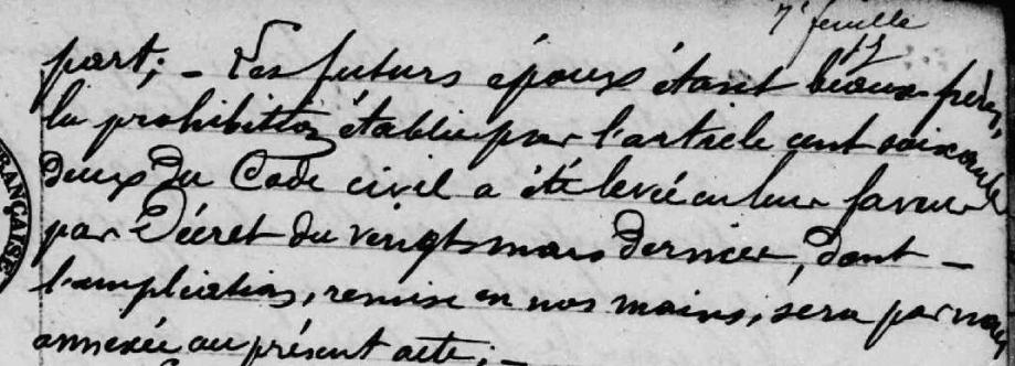 mention dans l'acte de X Soum Laffont 1893 Riverenert.PNG